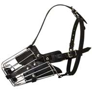 Basket Wire Amstaff Muzzle Padded All Over