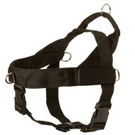 Amstaff Harness Nylon with Patches