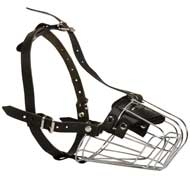 Wire Basket Amstaff Muzzle for Comfortable Walking and Training