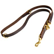 Multifunctional Leather Amstaff Leash