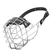 Wire Cage Amstaff Muzzle With One Strap