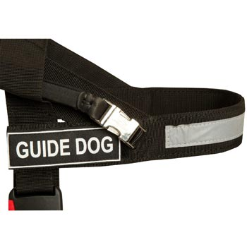 Amstaff Nylon Assistance Harness with Patches