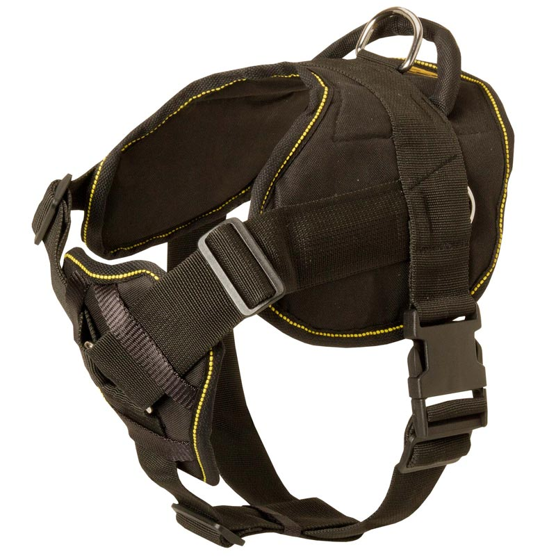 Nylon Amstaff Harness for Pulling Tracking Training