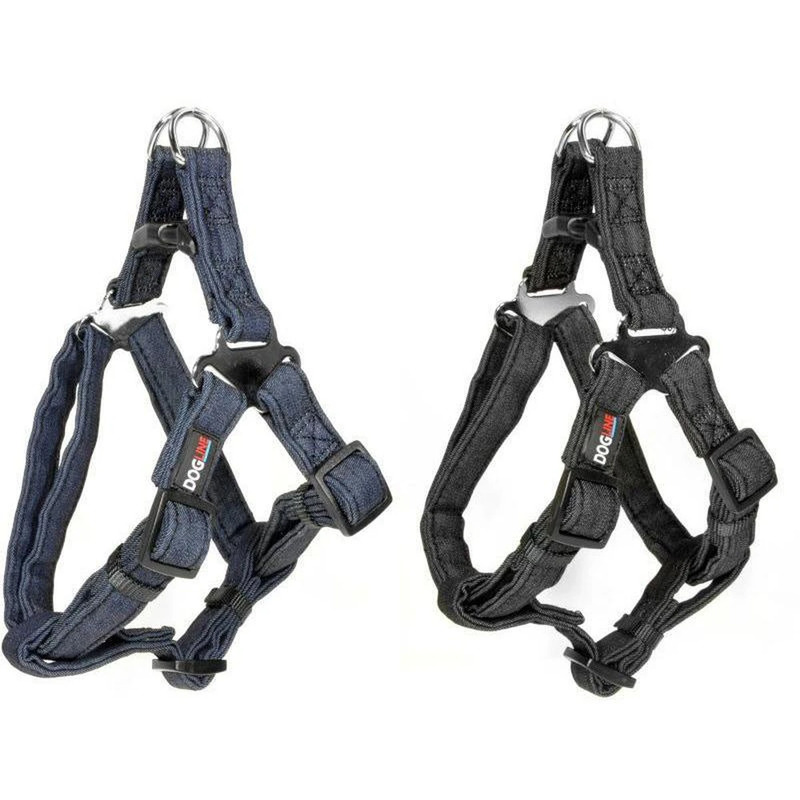 Denim Step-in Harness