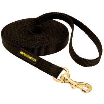 Tracking Extra Long Nylon Amstaff Leash